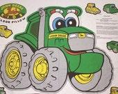 John Deere Kids Floor Pillow, 1 Panel, John Deere Fabric, Tractor Fabric