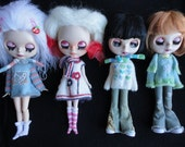 Easter & Spring Embroidery Soft Sweaters and Scarfs for Blythe Doll