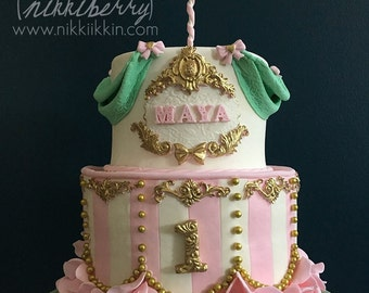 Carousel Cake - LUX single horse
