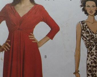 Plus Size  Dress Pattern Butterick 5079- Size 16-22-UNCUT