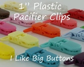 10 KAM Clips/Plastic Clips Pacifier Soother/Paci/Dummy/Nuk/MAM/Bib/Toy Holder Clips: You Choose Color(s)