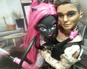 Monster High Boo York Seth Ptolemy OOAK Custom Doll