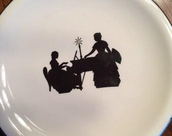 Harkerware plates (3)