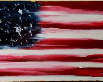 Original Painting, Abstract Painting, Contemporary Art, Modern Art, Patriotic Art, Textured Wall Art,Canvas Painting,Anna Wireman,Home Decor