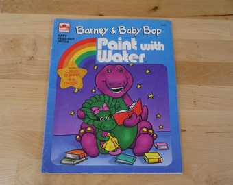 Vintage Barney Paint with Water 1993