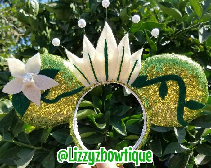 Princess Tiana Sequin Minnie Ears