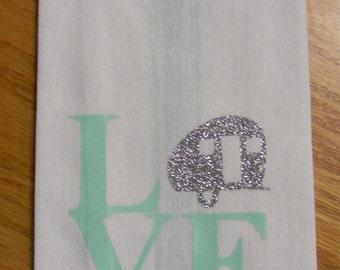 Love Camping Towel