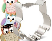 Owl Cookie Cutter ~ Owl Party ~ Owl Shower ~ Metal Cookie Cutter ~ Made in the USA