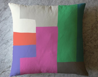 Pillow with Colorblock. May 16, 2016