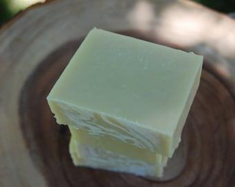 Triple Butter Soap Bar with Shea Butter, Mango Butter, Cocoa Butter