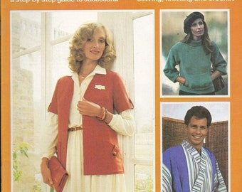 ON SALE Stitch by Stitch Craft Magazine Vintage 1970s Part  12