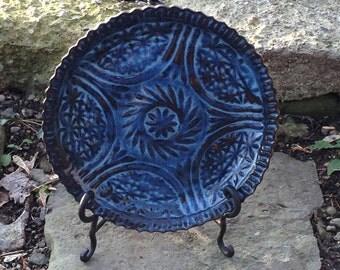 Pottery Plate Handmade Ceramic Cake Plate (1215047)