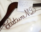 Medical School Student White Coat Ceremony Gift, Future MD Coat Hanger, Or Your Choice of Text