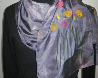 Garden Bouquet Silk Scarf