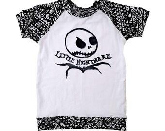 Little Nightmare Raglan Tee T-Shirt