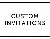 Personalized DIGITAL PDF of existing Invitation (5x7)