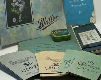 Instant Collection Vintage Office Ephemera