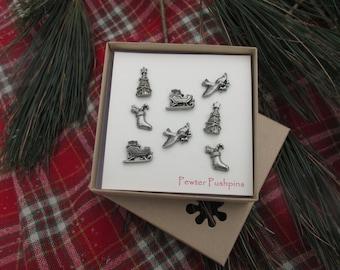 Christmas Pushpins