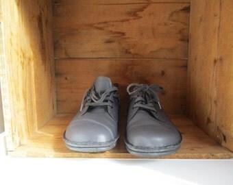 leather Finn Comfort Size 37 womens Shoes Made in Germany womens size 7 preppy birkenstock shoes Comfort shoe Nurses worker walking shoes
