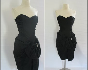 1980s short, wiggle style, party dress, prom dress