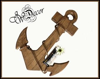 Wedding Book Alternative, Wood Anchor, Wedding Guest Book, Nautical, Beach, Rustic