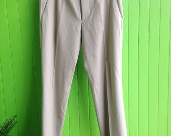 Vintage Gucci Wool Pants Camel 1990s