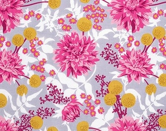 Wander by Joel Dewberry for Free Spirit - Moon Garden - Rosetta - Fat Quarter - FQ - Cotton Quilt Fabric 916