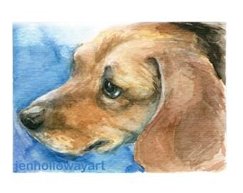 Custom Pet Portrait, Pet Painting, Dog Art, Pet Art