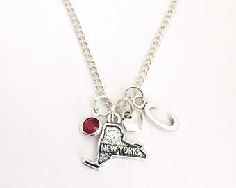Personalized New York Necklace