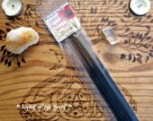 LOTUS Botanical Pressed Charcoal Incense - 20 Sticks - Compassion & Enlightenment - pagan ritual, Wiccan ritual, altar supplies, magick
