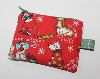 Coin purse, change purse, dog purse, gift for dog lover