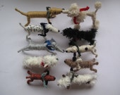 Private listing for Skylid Fung, 10 hand-made dogs.