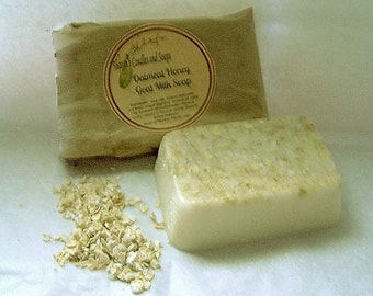 Oatmeal Honey Goat's Milk Soap