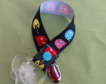 Pac-Man Video Game Pacifier Holder