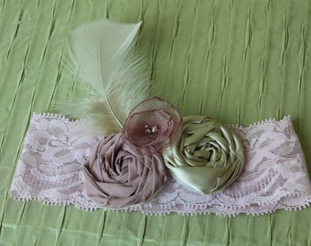 Garter-vintage wedding inspired