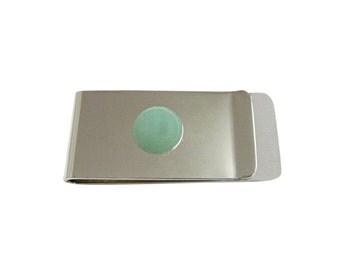 Green Aventurine Gemstone Money Clip
