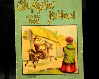 "Victorian Child's Book, ""Old Mother Hubbard and her Dog"", Charles E. Graham"