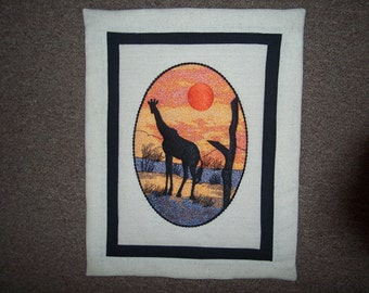 African Animal Wallhangings
