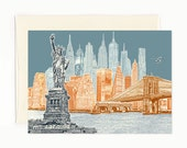 New York City Skyline Not...