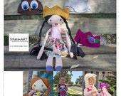 Little Long Stocking Doll Stuffed toy PATTERN