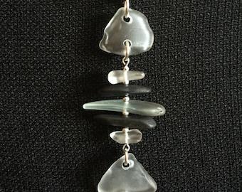 Lake Superior Beach Glass Fish Necklace