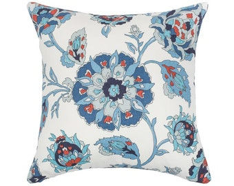Floral  Pillow Cover, Kravet Pillow,  Decorative Throw Pillow