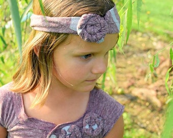 Size 5 Washed Cotton Tee Shirt Dress | Striped Eco Dress | Leggings and Headband | Ellie Ann and Lucy