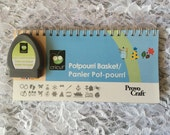Cricut cartridge Potpourri Basket - gently used