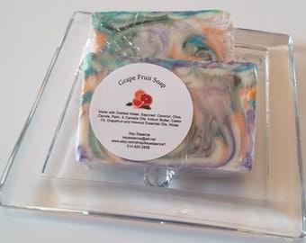 Grapefruit Soap, Homemade Essential Oils Soap / Handmade Soap / Handcrafted Soap / Cold Process Soap / Essential Oils