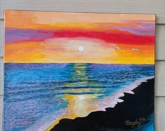 Sunset near Myrtle Beach