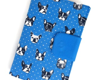 "Unisex ""Bulldog Faces Fabric"" Electronics Device, Case~Cover, Tablet Case~Cover, eReader Case~Cover, Electronic Cases~~~READY TO SHIP~~"