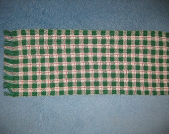 Plaid Table Runner PDF download only