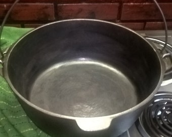 Cast Iron Huge Cooking Pot