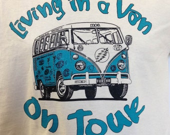 Living in a Van T-shirt - All Sizes S-3XL
